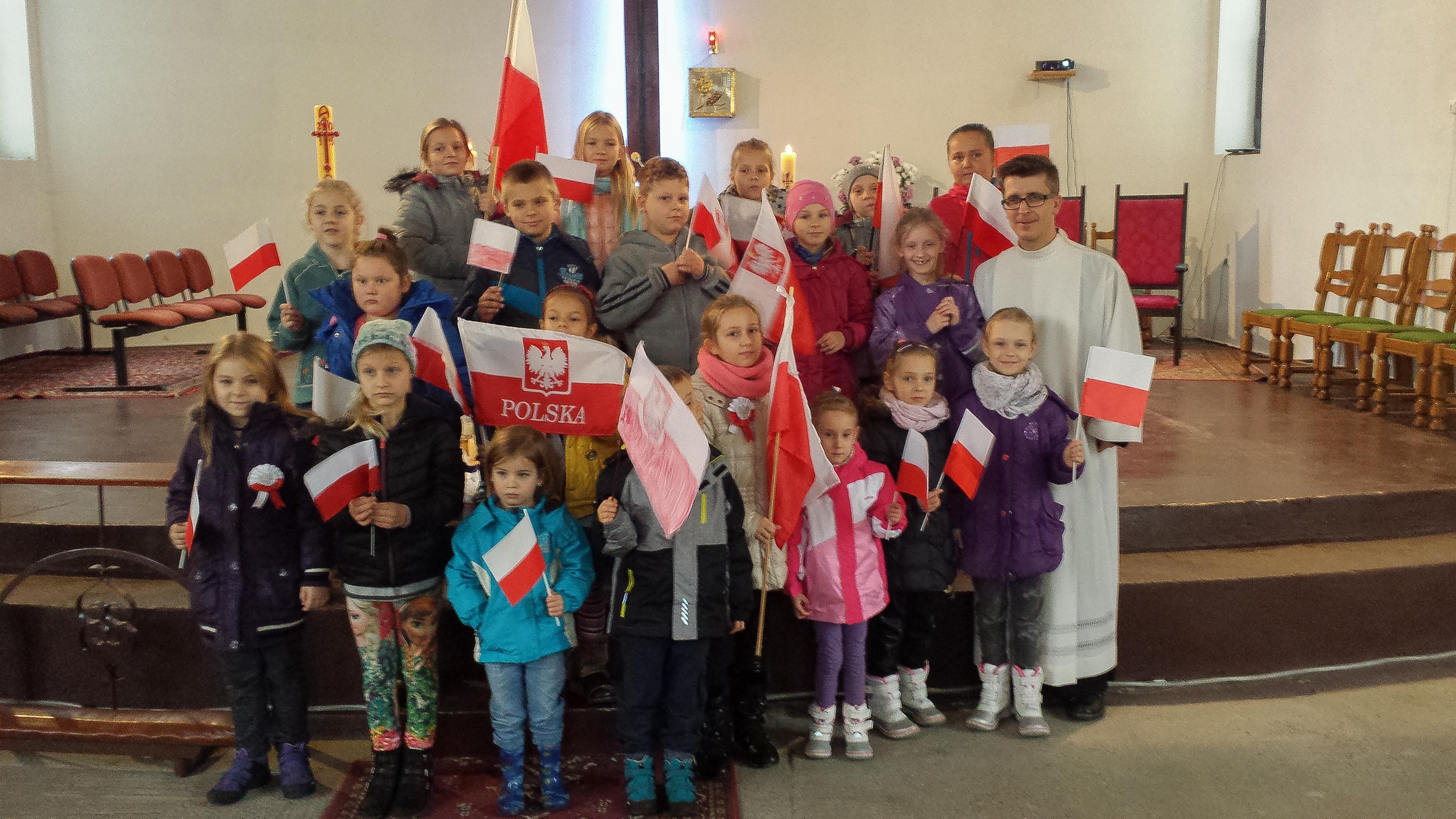 Patriotyzm wśród najmłodszych w św. Krzysztofie...